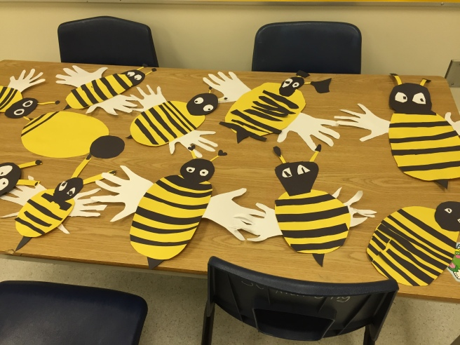 The finished bees!